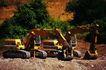 工业世界0048,工业世界,工业,挖土机