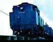 现代火车0058,现代火车,工业,电线 车尾 行驶