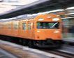 现代火车0071,现代火车,工业,地铁 橘黄 站台