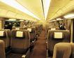 现代火车0101,现代火车,工业,白色灯光 坐椅咖啡色 有头枕
