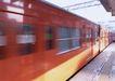 现代火车0103,现代火车,工业,地铁列车 红色 方形窗户