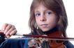小提琴0039,小提琴,艺术,小女孩 严肃 拉奏