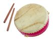 中式乐器0027,中式乐器,艺术,鼓 棒子 圆形