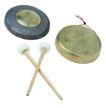中式乐器0055,中式乐器,艺术,中国风 铜锣 鼓槌