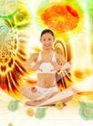健康分层0002,健康分层,电脑合成,瑜伽 练功 健身