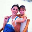 家庭和睦0097,家庭和睦,家庭情侣,年轻 妈妈 椅子