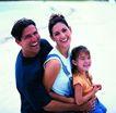 家庭和睦0100,家庭和睦,家庭情侣,全家福 沙滩 度假
