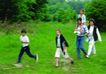 家庭和睦0120,家庭和睦,家庭情侣,旅游 绿色 快乐