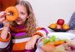 全家福0041,全家福,家庭情侣,水果 甜甜圈 饼干