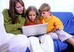 全家福0042,全家福,家庭情侣,看比赛 学知识 沙发