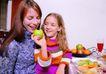 全家福0046,全家福,家庭情侣,吃苹果 毛线衣 温暖