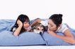 温馨家庭0118,温馨家庭,家庭情侣,天伦之乐 小狗 宠物