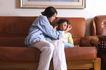温馨家庭0152,温馨家庭,家庭情侣,沙发