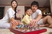 温馨家庭0155,温馨家庭,家庭情侣,下棋
