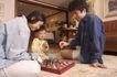 温馨家庭0158,温馨家庭,家庭情侣,温馨之家 一起下棋