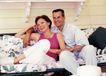 夫妻闺房0123,夫妻闺房,家庭情侣,老夫老妻 沙发 依偎 怀里 温存