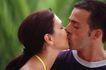两人世界0110,两人世界,家庭情侣,两个男女 接吻 女士微笑