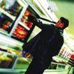 购物场景0022,购物场景,生活方式,饮料 超市 食物