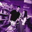 购物场景0028,购物场景,生活方式,购物车 情人 超市