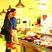 购物场景0043,购物场景,生活方式,厨师 推荐 手提购物篮