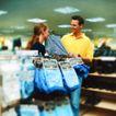 购物场景0059,购物场景,生活方式,购物时间 男士用品店 挑选内裤