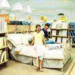 购物场景0064,购物场景,生活方式,床铺 超市 场景
