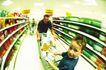 购物场景0071,购物场景,生活方式,超市 购物 儿童