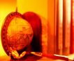 品味人生0071,品味人生,生活方式,地球仪 红色 桌面