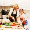 激动时刻0055,激动时刻,生活方式,母女两个 过节了 准备饭菜