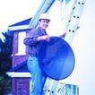 劳动创造0005,劳动创造,生活方式,钢架梯 别墅 天线 通讯设施 太阳能
