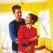 劳动创造0013,劳动创造,生活方式,紧密 黄色墙壁 修饰 男女 异同