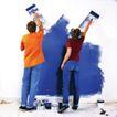 劳动创造0025,劳动创造,生活方式,粉刷 墙壁 新家