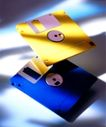 生活对象0007,生活对象,生活方式,硬件 电脑 记忆卡 黄蓝 光盘
