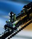 生活对象0035,生活对象,生活方式,玩具 列车 铁轨