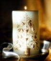 温馨烛光0027,温馨烛光,生活方式,饰物 彩带 图饰