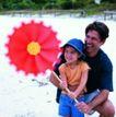今日儿童0052,今日儿童,儿童教育,亲情表达 爸爸和女儿 大风车