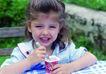 今日儿童0062,今日儿童,儿童教育,女孩 冰激凌 绿色