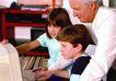 今日儿童0063,今日儿童,儿童教育,爷爷 小孩 电脑