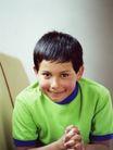 童趣0006,童趣,儿童教育,坏小孩 叉手 主意 坏笑 表情
