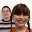 童趣0015,童趣,儿童教育,大板牙 开怀一笑 马尾辫 小学生 教育
