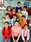 小学教育0028,小学教育,儿童教育,同学 老师 椅子