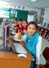 小学教育0031,小学教育,儿童教育,学习 电脑室 同学