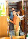 小学教育0035,小学教育,儿童教育,书架 图书馆 借书