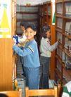 小学教育0038,小学教育,儿童教育,男生 木柜 书籍