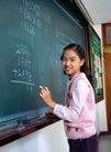 小学教育0047,小学教育,儿童教育,黑板 演算