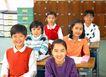 小学教育0062,小学教育,儿童教育,学生 课桌 课堂