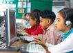 小学教育0063,小学教育,儿童教育,小孩 电脑 上机