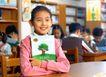 小学教育0072,小学教育,儿童教育,书本 封面 绿树