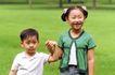 儿童玩耍0040,儿童玩耍,儿童教育,姐弟 童年 合影