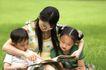 学前教育0021,学前教育,儿童教育,年轻 妈妈 孩子